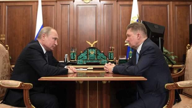 Миллер: «Газпром» займется заполнением европейских хранилищ после 8 ноября