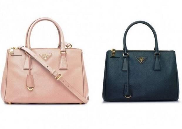 Saffiano Bag от Prada.