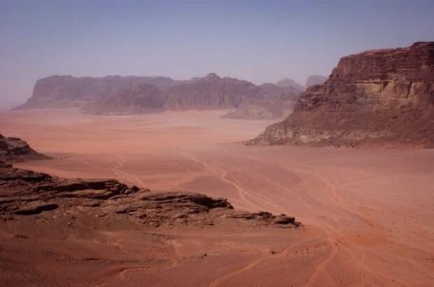 Вади Рум, Иордания природа, пустыня