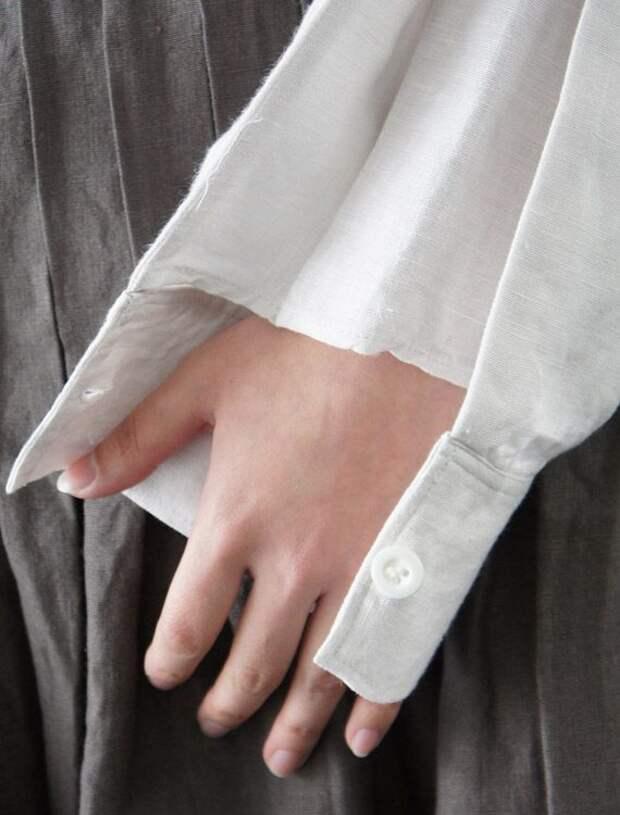 Интересная деталь рукава