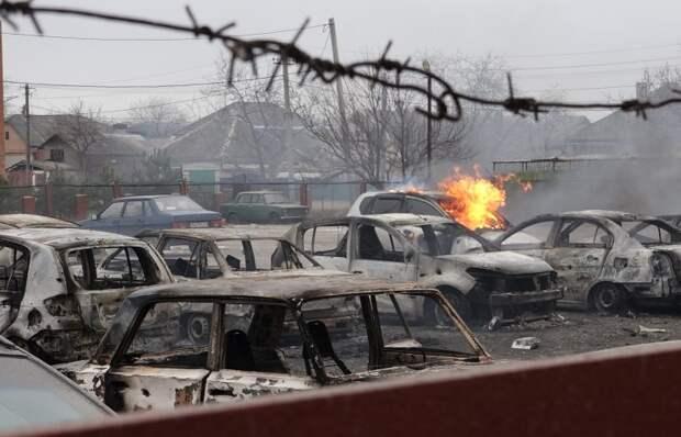 Отчет ОБСЕ: обстрел Мариуполя велся с северо-восточного и восточного направления