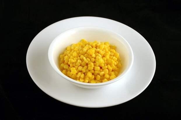 Консервированная кукуруза — 308 г диета, еда, калории