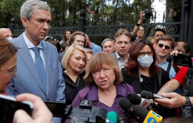 Белорусская оппозиция назвала Росгвардию «вооружённой группировкой»