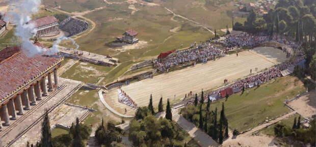 Большие игры Древней Греции
