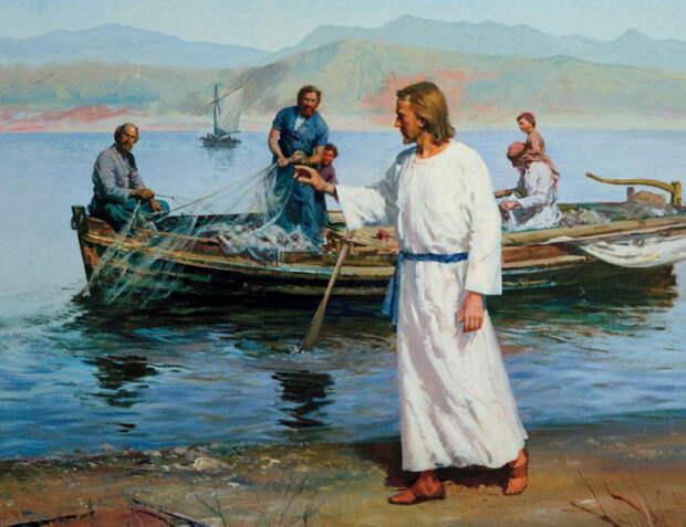 Иисус напрямую связан с рыбалкой. |Фото: livejournal.com.