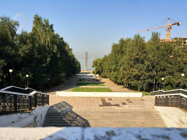 Ремонтом спуска к монументу «Дружбы народов» в Ижевске займется «Дельта-Строй»