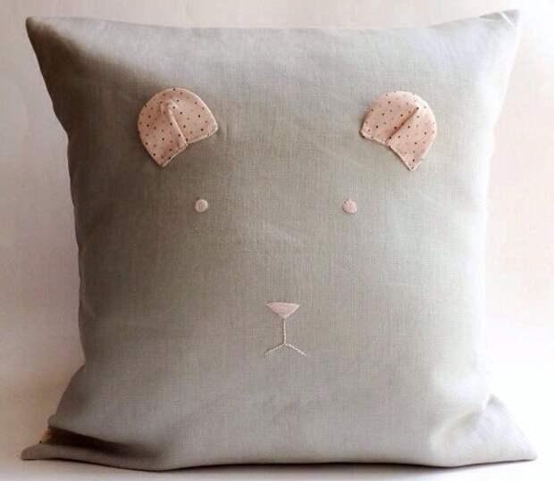 Идея подушки-зверушки