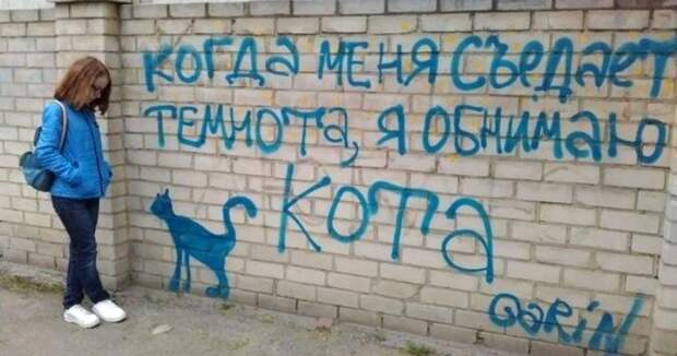 Настенная мудрость: надписи, которые можно увидеть только в России