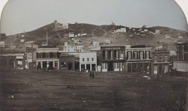 Площадь Портсмут, Сан-Франциско, Калифорния, январь 1851 года