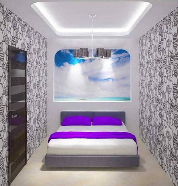 Спальня без окон дизайн,  идеи и решения