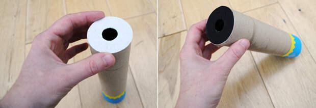 Как сделать своими руками калейдоскоп для ребенка.