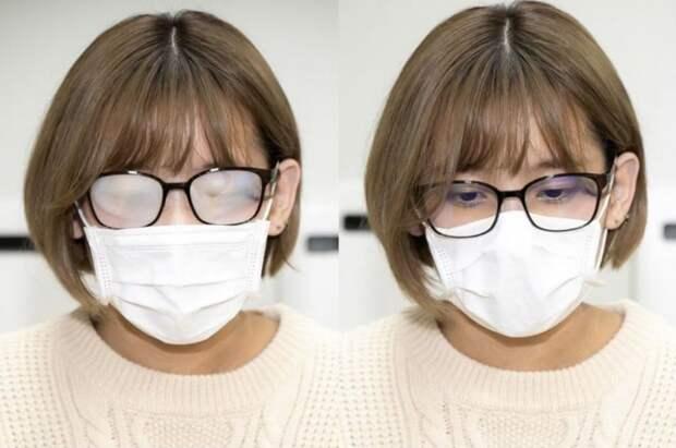 Что делать, чтобы очки не запотевали из-за маски: карантинные советы