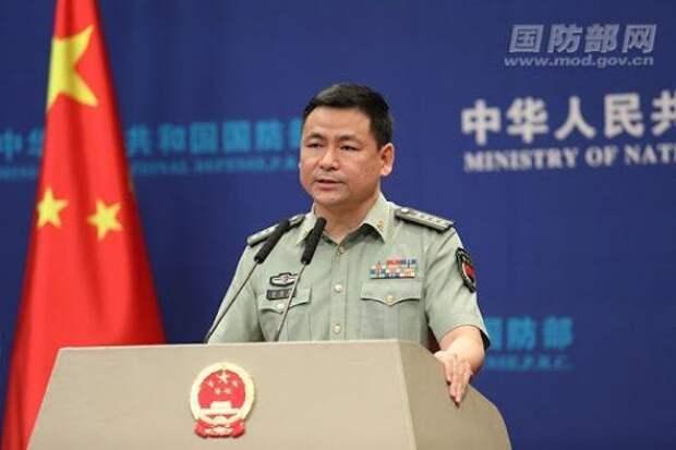 Минобороны КНР: США пытаются использовать Тайвань для контроля над Китаем