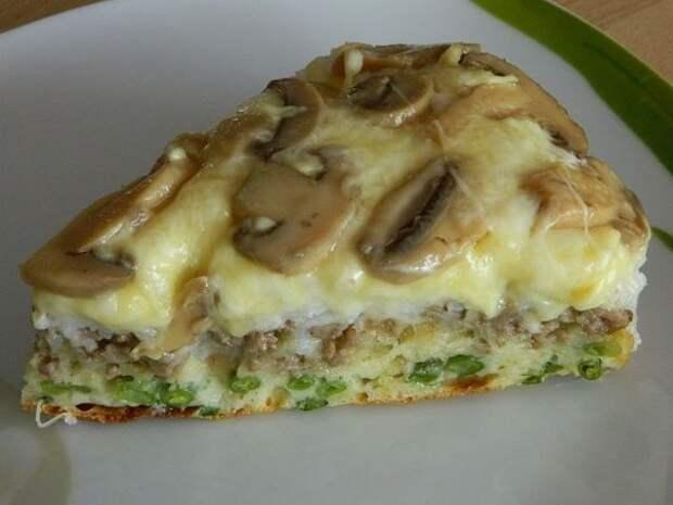 Бесподобный рецепт слоеного пирога-перевертыша