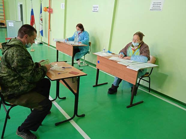 Явка избирателей в первый день выборов в ГД РФ в Иркутской области составила 10,86%