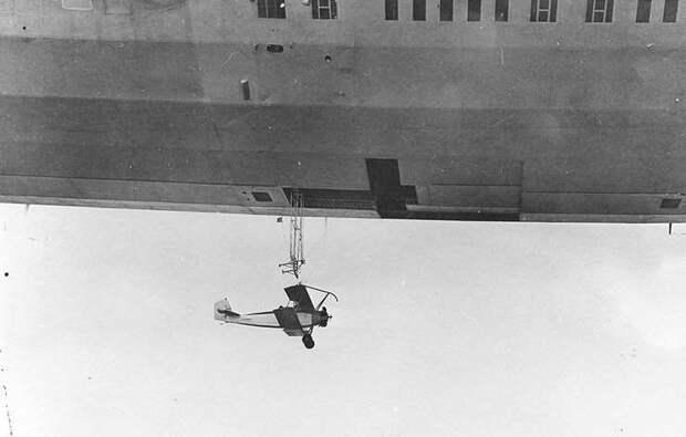 Авианесущий дирижабль США: USS Akron ZRS-4 (1931 - 1933)