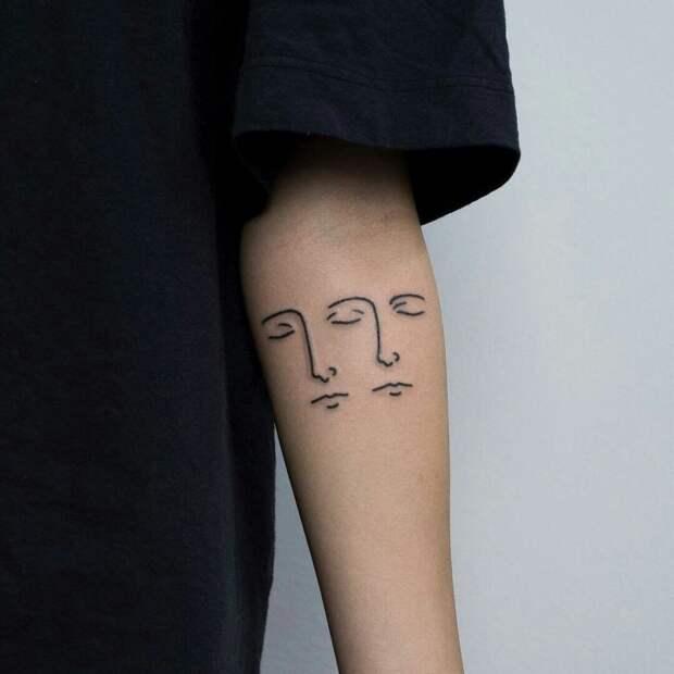 Двойное лицо