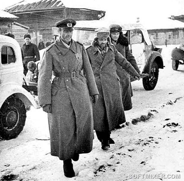 Жизнь фельдмаршала Паулюса в советском плену