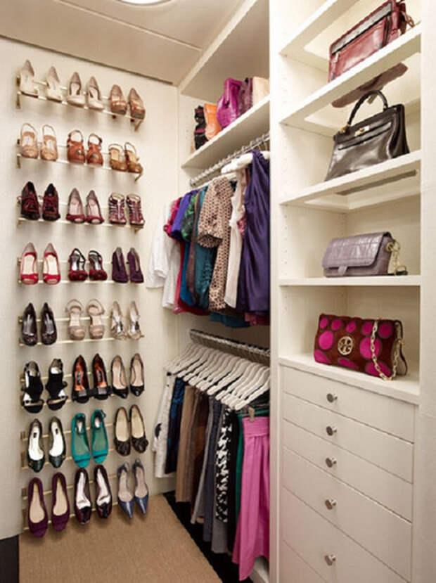 Как обустроить гардеробную: 21 идея для обычных и самых маленьких комнат…