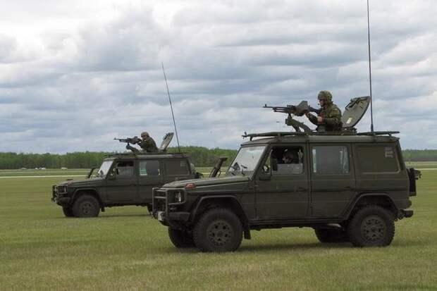 Mercedes-Benz G-Klasse Military авто, броневик, военная техника