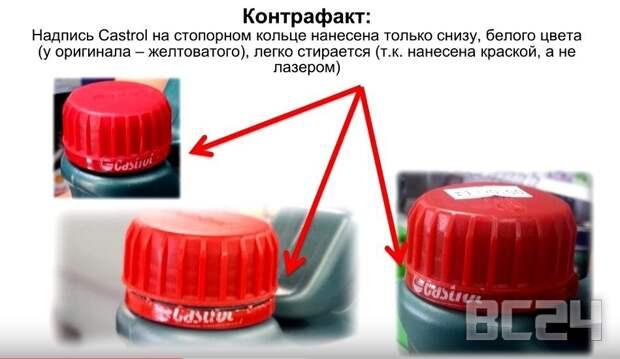 Как отличить от подделки масло CASTROL