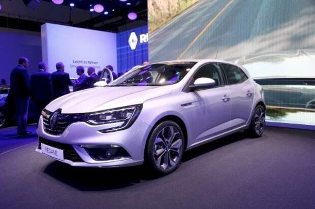 Renault выкатила новое поколение модели Megane