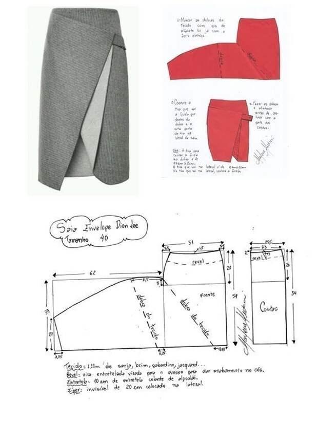 Предлагаем вам идеи и выкройки юбок разных фасонов.