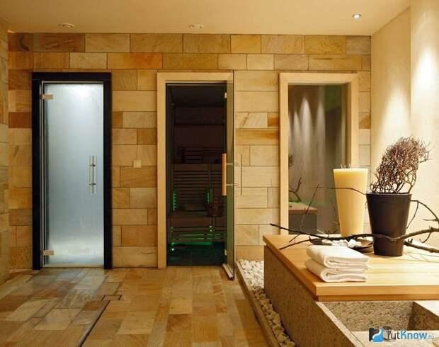 Стеклянные двери в парилку: инструкция по монтажу
