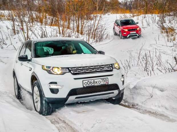 Land Rover Discovery Sport на нашем бездорожье: антигламур