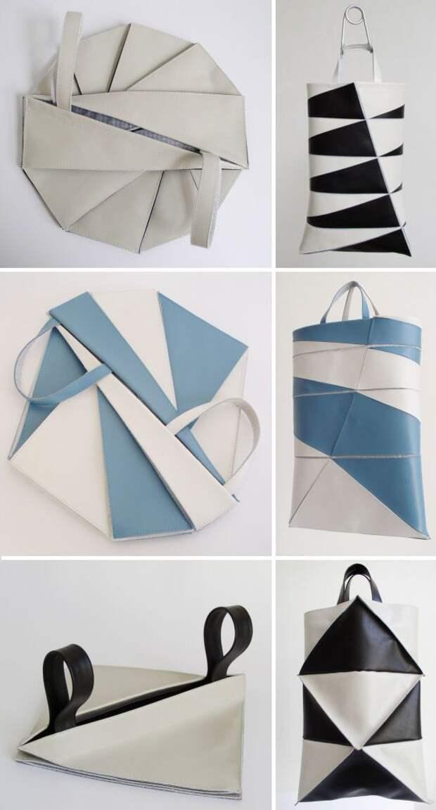 Складные сумки оригами