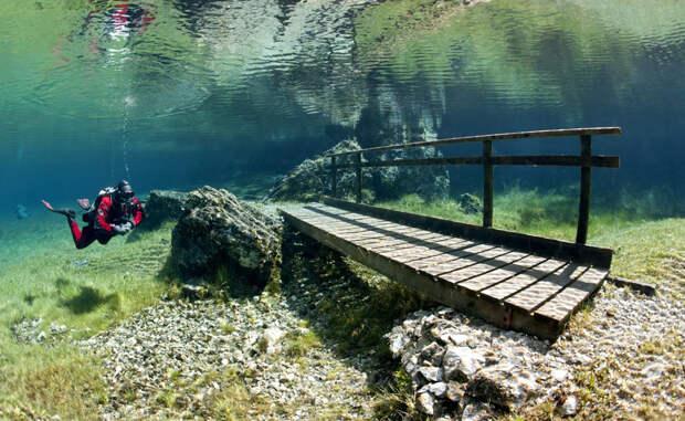 Грюнер-Зе: утонувшее озеро