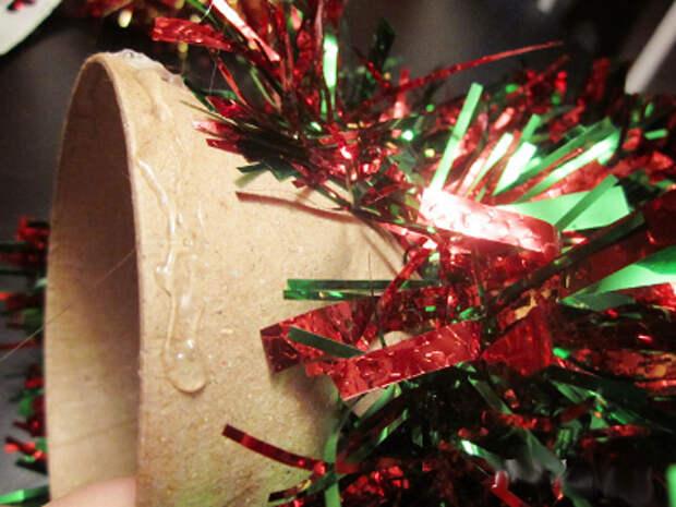 новогодние елки своими руками из бумаги