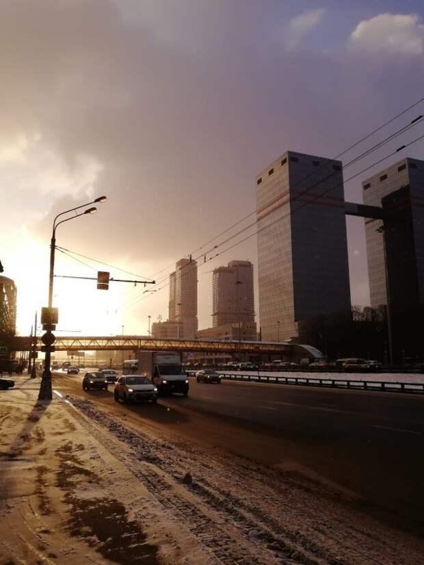 Фото дня: весенняя Ленинградка