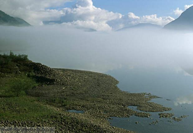 Пейзажи озера Кутарамакан.
