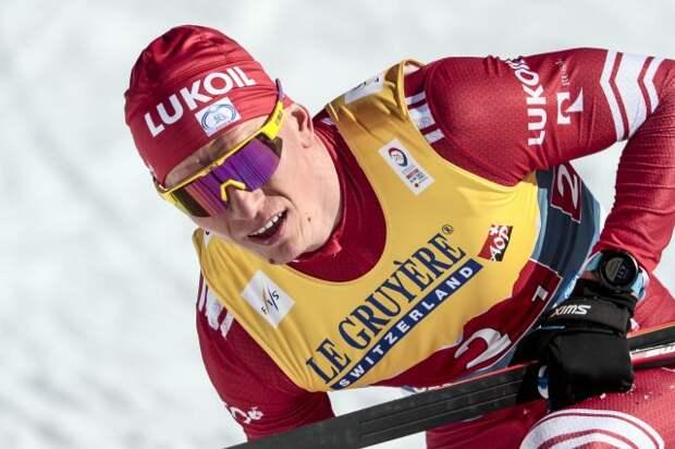 Лыжник Большунов стал четвёртым в гонке с раздельным стартом на ЧМ