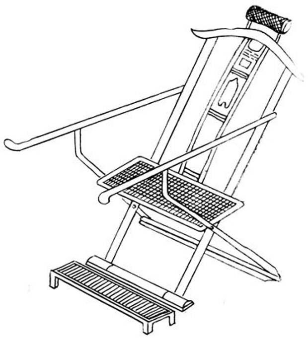 """Удобное кресло для """"каменной бабы""""."""