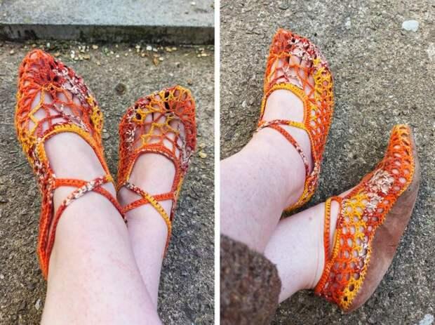20+ человек с прямыми руками, которые любые невзрачные туфли превратят в шедевр