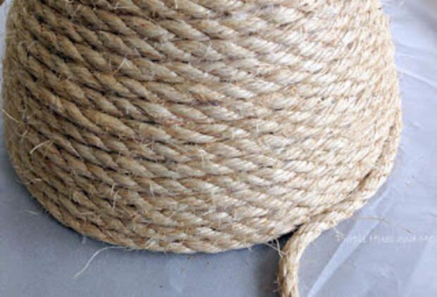 Корзинка с крышкой своими руками из сизалевой веревки (7) (320x218, 98Kb)