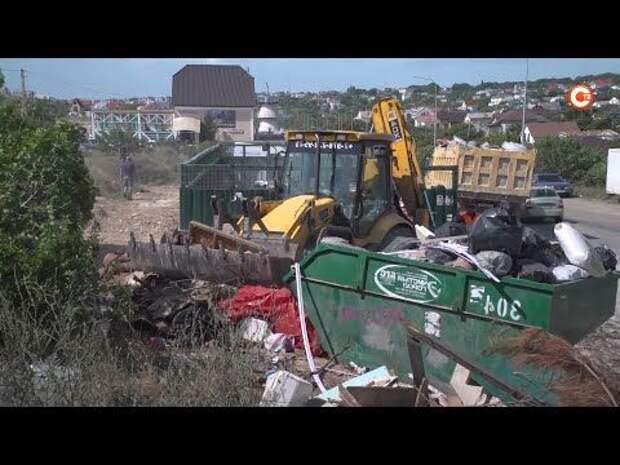На Фиоленте ликвидировали 80 кубометров мусора (СЮЖЕТ)