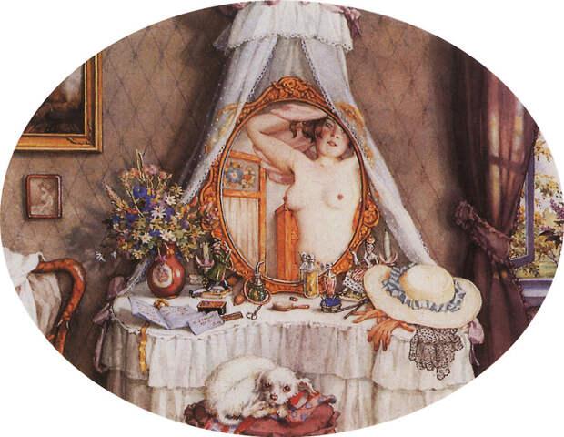Константин Сомов: первый эротический художник царской России (КАРТИНЫ)