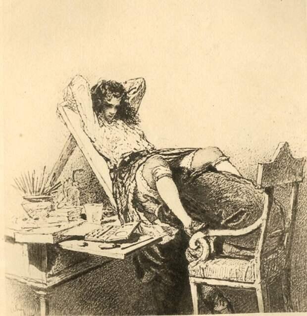 Художник Михай Зичи: рисунки для русских императоров и для своей души