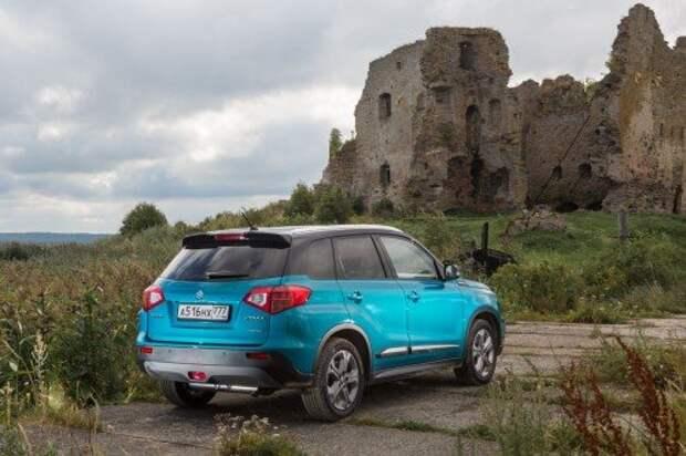 Suzuki планирует продать в России до конца года около 3 тыс. Vitara