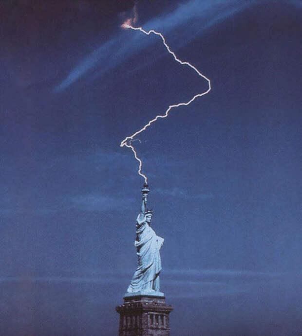 13. Статуя Свободы курьезные, фото, юмор
