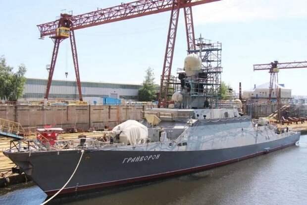 «Грайворон» и другие. Строительство малых ракетных кораблей проекта 21631