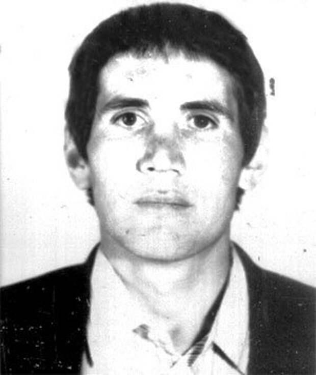 Шамиль Даниулов в молодости
