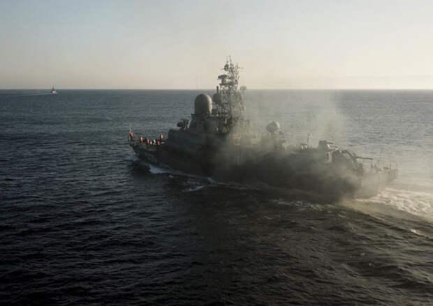 Корабли Северного флота отработали уничтожение группировок условного противника в Баренцевом море