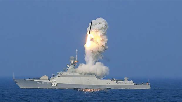 Avia.pro: корабли ВМФ РФ нанесли удар по целям в сирийском Идлибе