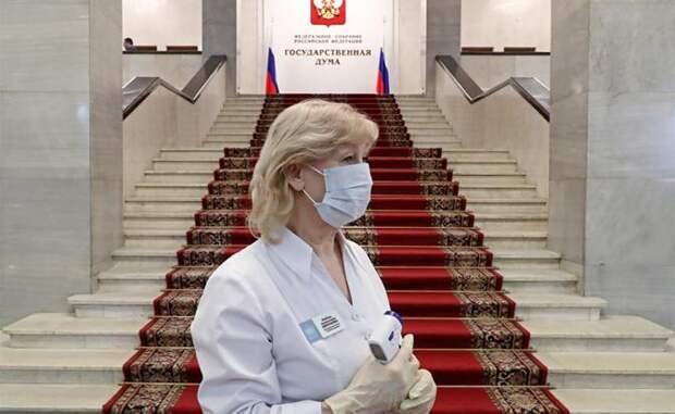 Коронавирус в России: Власть навсегда ушла в виртуальность, а народ предоставлен теперь сам себе