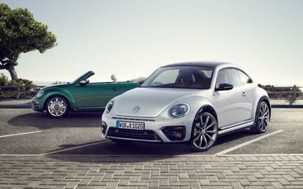 Volkswagen Beetle принарядили в последнюю гастроль