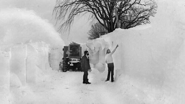 Сильнейшие снегопады в истории